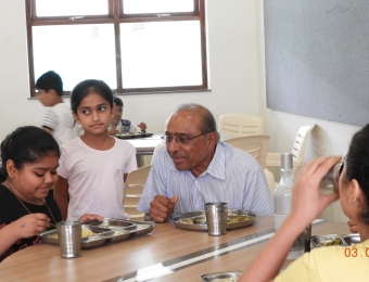 Vishram Sir with Students